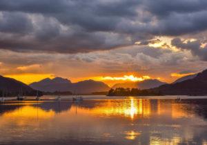 Loch Leven Sunset 3